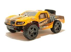 Радиоуправляемый шорт-корс Remo Hobby Rocket UPGRADE (оранжевый) 4WD 2.4G 1/16 RTR 1