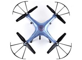 Р/У квадрокоптер Syma X5HW (голубой) с FPV трансляцией Wi-Fi, барометр 2.4G RTF 1