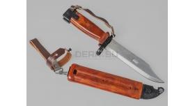 Болгарский штык-нож 6х4 для АКМ, АК-74 / Оригинал склад [хо-34]