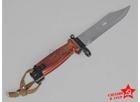 Штык-нож 6Х4 облегчённый для АКМ, АК-74