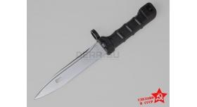 Штык нож 6х5 АК-74, АН-94, АК сотой серии / Оригинал чёрный ижевский [хо-60]