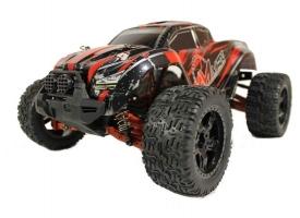 Радиоуправляемый монстр Remo Hobby MMAX PRO UPGRADE (красный) 4WD 2.4G 1/10 RTR