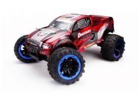 Радиоуправляемый монстр Remo Hobby Dinosaurs Master Brushless UPGRADE (красный) 4WD 2.4G 1/8 RTR