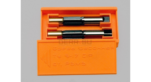 Развёртка для формирования патронника 9х17 (.380 ACP) / Из стали Р6М5 [инстр-45]