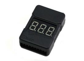 Сигнализатор просадки напряжения LiPo аккумуляторов в корпусе