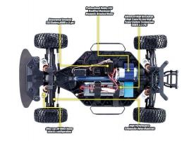 Радиоуправляемая шоссейка Remo Hobby Rally Master 4WD 2.4G 1/8 RTR 1