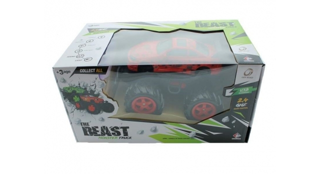 Р/У внедорожник Monster Truck Nissan Silvia в ассортименте 1/14 + свет + звук 16