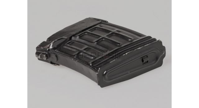 Магазин для СВД (или карабина Тигр) / Оригинал ММГ (без пружины подавателя) [свд-10]