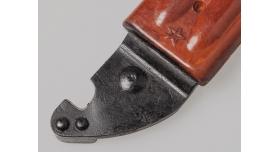 Штык нож 6х4 АКМ, АК-74 / Оригинал клеймо звезда (Тула) новый [хо-26]