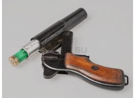Дюралевая втулка для ракетницы 4 калибра (26-мм) под сигнальные патроны других калибров