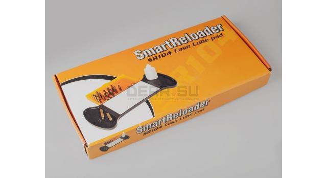 Универсальная подставка для гильз с ковриком для смазки / Smart reloader case lube pad [SR104]