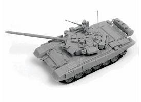 Сборная модель ZVEZDA Российский танк Т-90, 1/72
