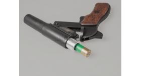 Дюралевая втулка 4 калибра (26-мм) / Под сигнальный патрон 20 кал. (15.6-мм, вес ~ 130 г) [сиг-344]