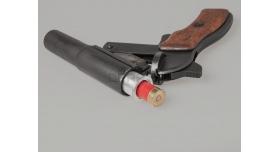 Дюралевая втулка 4 калибра (26-мм) / Под сигнальный патрон 16 кал. (16.8-мм, вес ~ 100 г) [сиг-345]