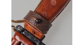 Тульский штык-нож 6Х4 для АКМ, АК-74 \ Оригинал с звездой на ножнах и рукоятке [хо-26]