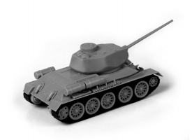 Сборная модель ZVEZDA Советский средний танк Т-34/85 (сборка без клея), 1/72 1