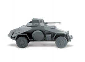 Сборная модель ZVEZDA Немецкий легкий бронеавтомобиль Sd.kfz 222, 1/100 1