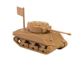 "Сборная модель ZVEZDA Американский средний танк ""Шерман"" М4А2, 1/100"