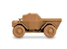 Сборная модель ZVEZDA Британский бронеавтомобиль &quotДинго&quot, 1/100 1