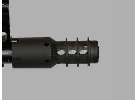 ДТК Цитадель 74 для АК-74 и моделей на его основе / Чёрный с резьбой М24х1,5 под калибры 5,56/5,45-мм [мт-851]