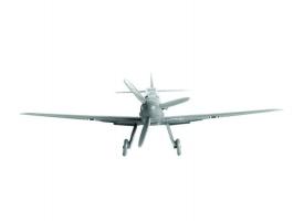 Сборная модель ZVEZDA Немецкий истребитель Мессершмитт BF-109F2, 1/144