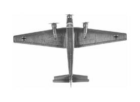 Сборная модель ZVEZDA Немецкий самолет Юнкерс Ю-52, 1/200 1