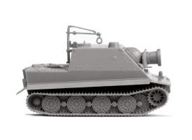 Сборная модель ZVEZDA Немецкое штурмовое орудие &quotШтурмтигр&quot, 1/100 1