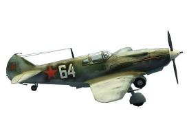 Сборная модель ZVEZDA Советский истребитель ЛАГГ-3, 1/144