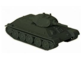 Сборная модель ZVEZDA Советский средний танк Т-34/76 (обр 1940г) , 1/100