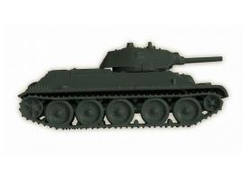 Сборная модель ZVEZDA Советский средний танк Т-34/76 (обр 1940г) , 1/100 1
