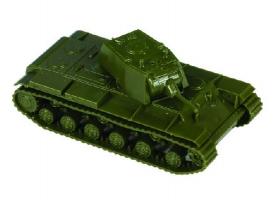 Сборная модель ZVEZDA Советский тяжелый танк КВ-1 обр 1940г, 1/100