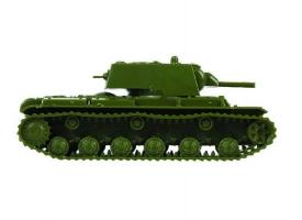 Сборная модель ZVEZDA Советский тяжелый танк КВ-1 обр 1940г, 1/100 1