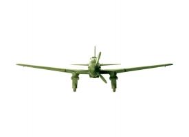 Сборная модель ZVEZDA Штурмовик Ил-2 обр. 1941г, 1/144