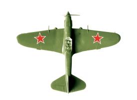 Сборная модель ZVEZDA Штурмовик Ил-2 обр. 1941г, 1/144 1