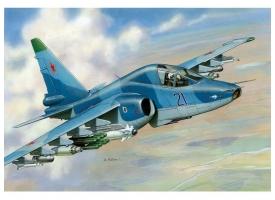 Сборная модель ZVEZDA Российский истребитель танков Су-39, 1/72 1