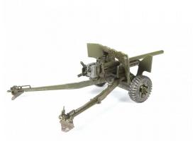 Сборная модель ZVEZDA Британская 6-ти фунтовая противотанковая пушка МК-II, 1/35 1
