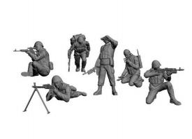 Сборная модель ZVEZDA Советские десантники. Афганистан, 1/35