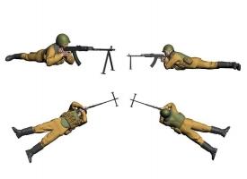 Сборная модель ZVEZDA Советские десантники. Афганистан, 1/35 1