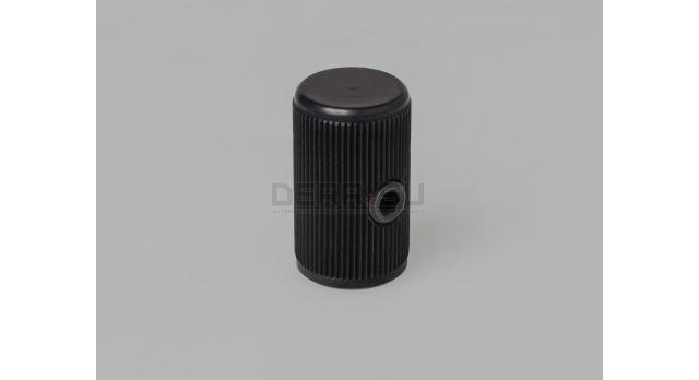 Рукоятка затвора (тромикс) для АК и его модификаций / Чёрная с накаткой [мт-868]