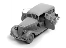 Сборная модель ZVEZDA Советский автомобиль Газ М1, 1/35