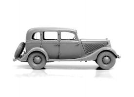 Сборная модель ZVEZDA Советский автомобиль Газ М1, 1/35 1