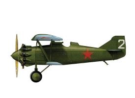 Сборная модель ZVEZDA Советский истребитель АНТ-5 (И-4, И-42), 1/72 1