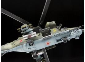 Сборная модель ZVEZDA Советский ударный вертолёт МИ-24П, 1/72