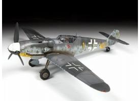 Сборная модель ZVEZDA Немецкий истребитель Мессершмитт BF-109G6, 1/48