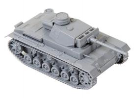 Сборная модель ZVEZDA Немецкий средний танк T-III (F), 1/35