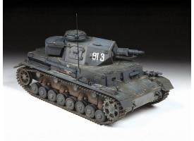 Сборная модель ZVEZDA Немецкий средний танк Т-IV E, 1/35 1