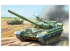 Сборная модель ZVEZDA Основной боевой танк Т-80Б, 1/35
