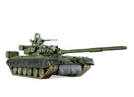 Сборная модель ZVEZDA Основной боевой танк Т-80БВ, подарочный набор, 1/35