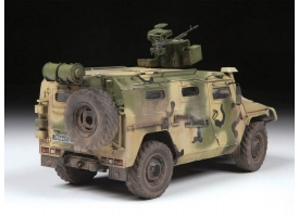 Сборная модель ZVEZDA Российский бронеавтомобиль ГАЗ «ТИГР-М» с модулем «Арбалет», 1/35 1