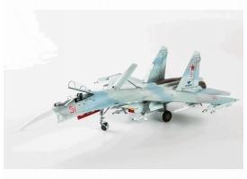 Сборная модель ZVEZDA Российский истребитель Су-27СМ, 1/72